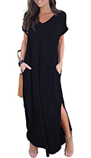 long dresses with sleeves casual