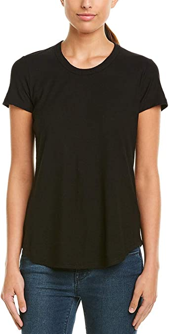 Black 2 James Perse Womens Relaxed T-Shirt