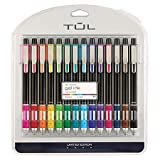 TUL Limited Edition Brights Retractable Gel Pens, Medium Point, 0.7 mm, Assorted Barrel Colors, Assorted Ink Colors, Pack Of 14