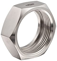 Dixon 13H-G200 Stainless Steel 304 Sanitary Fitting, Bevel Seat Hex Union Nut, 2\