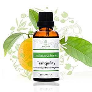 Tranquility Synergy for Anxiety Relief and Stress Support - 100% Natural Therapeutic Remedy for Calming & Mind Relaxed - 1.7 fl oz / 50 ml