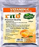 L-Ascorbic Acid Powder Vitamin C For Use in Serums and Cosmetic Formulations 100gm