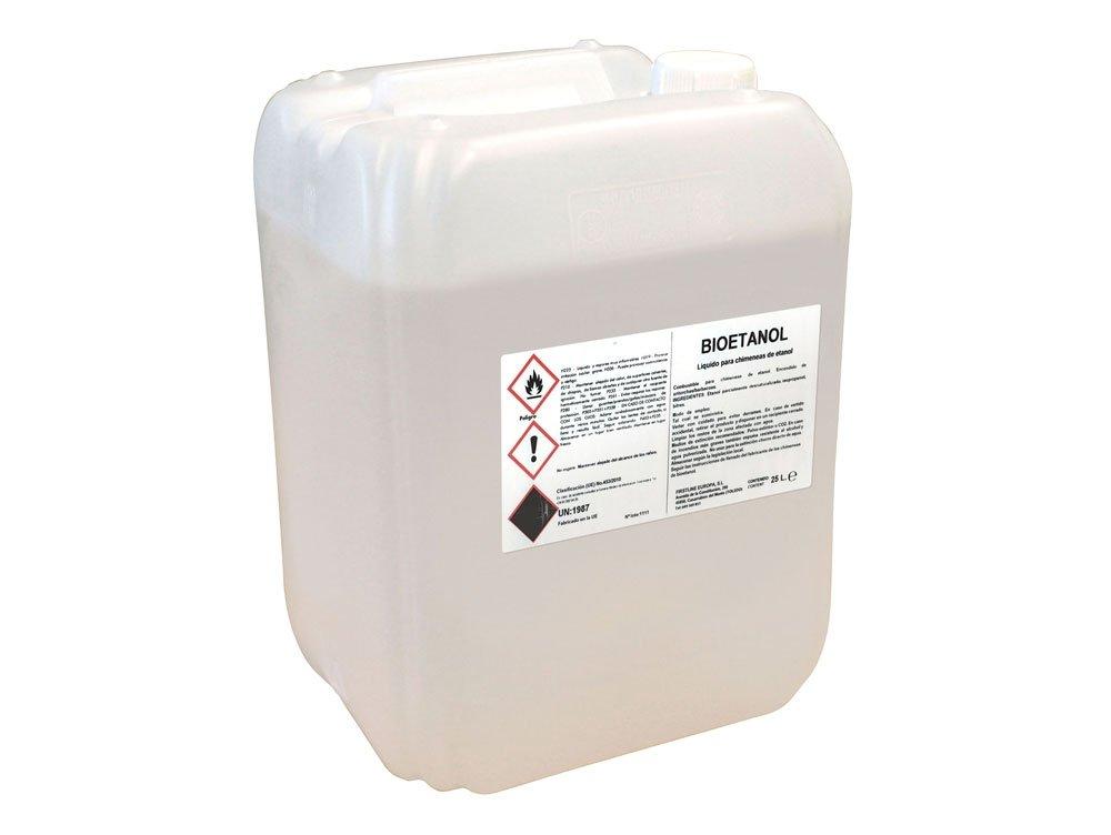 Combustible de origen natural liquido Garrafa 25L Firstline: Amazon.es: Bricolaje y herramientas