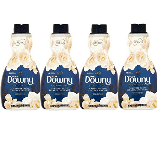 Ultra Downy Infusions Cashmere Glow Liquid Fabric Conditioner, 41 fl oz (4)