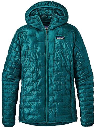 Patagonia Women's Micro Puff Hoody Elwha Blue Size S -