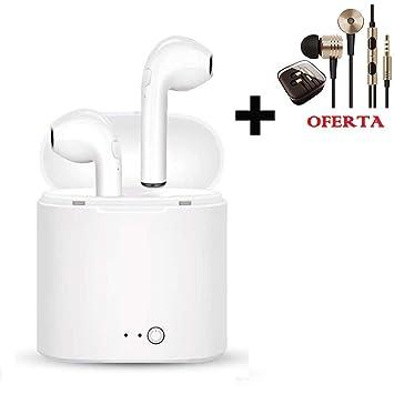 Auriculares Bluetooth Airpods Más Finos y más Calidad, Auriculares Inalámbricos Deportivos: Amazon.es: Electrónica