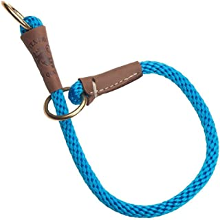 product image for Mendota Pet Command Slip Collar - Dog Training Collar - Made in The USA - Blue - 16 in
