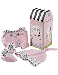 """""""Welcome Home Baby!"""" 3 Piece Layette Set in Pink"""