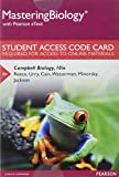 MasteringBiology with Pearson EText -- Standalone Access Card -- for Campbell Biology 9780321833143