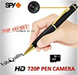 Primium Spy Pen 1080p Hidden Camera BUNDLE 16GB SD Card, Real HD Voice Video & Image + Upgraded Battery + 7 ink Fills Inc + USB SD Reader + USB Plug Executive Multifunction DVR Perfect Gift