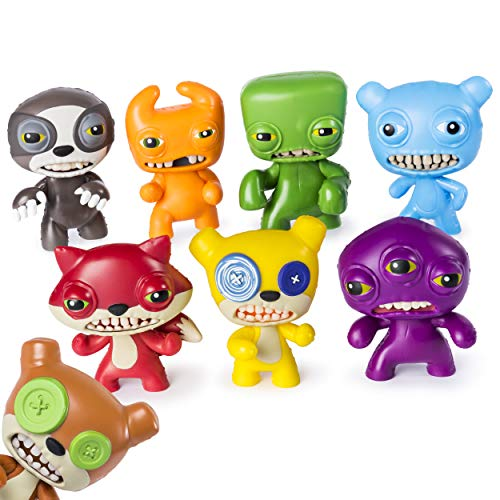 Figure Vinyl Monster Miss - Fugglers 6046770 Funny Ugly Monsters, 3-inch Tall Collectible Vinyl Figure, for Ages 4 and Up (Character May Vary), Multicolour