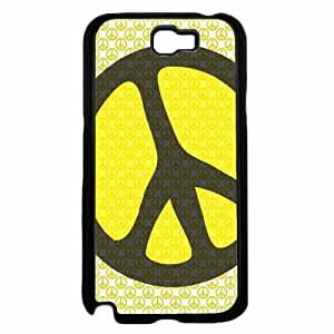 Hippie Peace on Hippie Sign TPU RUBBER SILICONE Phone Case Back HTC One M8