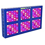 MEIZHI LED Grow Light 900W Full Spectrum for Indoor Plants Veg and Flower - Dual Growth/Bloom Switches