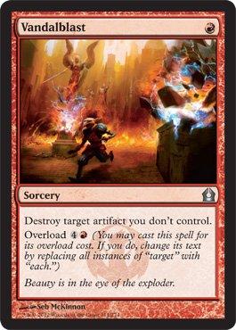 Magic: the Gathering - Vandalblast (111) - Return to (Uncommon Sorcery Single Card)