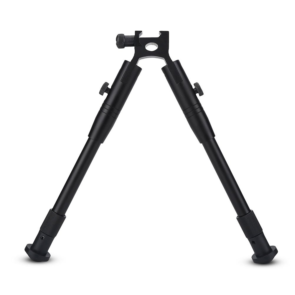 Hunting Rifle Bipod Tactical 6'' To 9'' Bipod Adjustable Spring Return Bipod Swivel Holder Mount for Rifle Hunting by Vbestlife (Image #7)