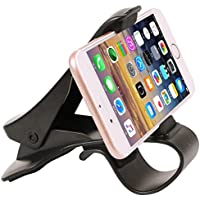 Car Mount Dashboard, Car Phone Holder/ Universal Cradle Adjustable for iPhone 7 7 Plus 6S 6 5S 5C, Samsung Galaxy S7 S6 & Other Smartphone Phones HUD Design Heads Up Display, Safe Handsfree Driving …