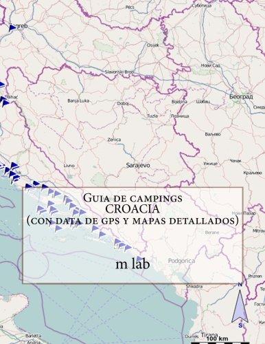 Guia de campings CROACIA con data de gps y mapas detallados: Amazon.es: lab, m: Libros
