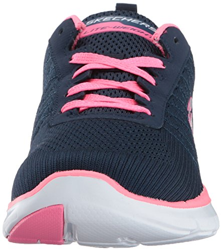 Sneakers Hot 2 Navy Low 0 Flex Skechers WoMen Pink Appeal Top Hw4w0zZq