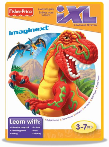 Fisher-Price iXL Learning System Software Imaginext Dinosaurs -