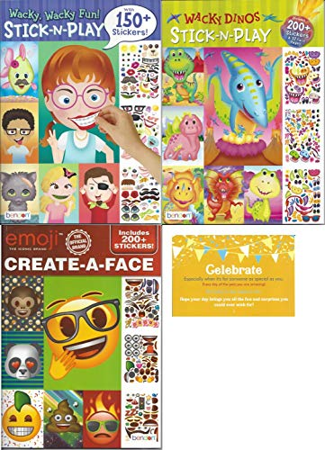 Create a Face Bundle Children. Inlcludes1 Wacky Dinos for sale  Delivered anywhere in USA
