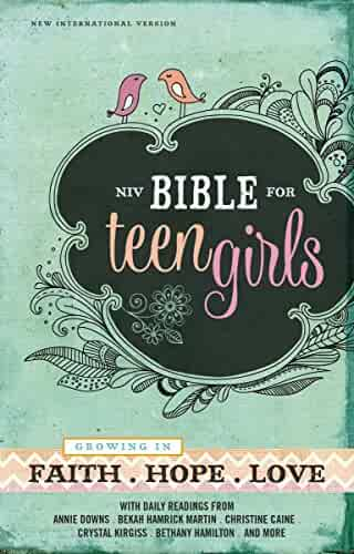 NIV, Bible for Teen Girls, eBook: Growing in Faith, Hope, and Love