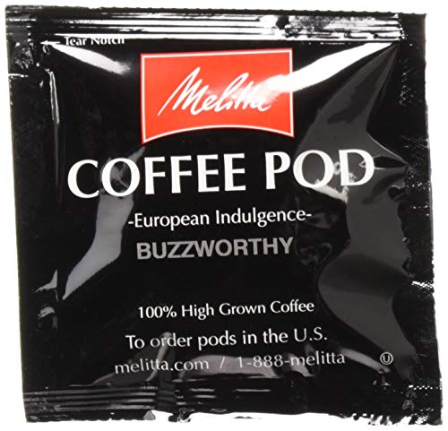 Buzzworthy Coffee Pods - Melitta Coffee Pods, Buzzworthy (Dark Roast), 18 Pods/Box