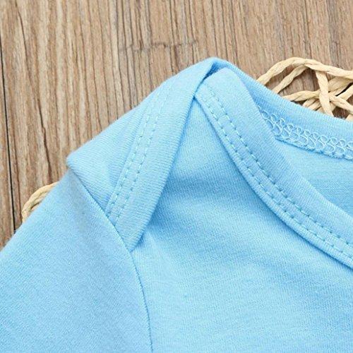 Willsa Newborn Baby Girls Boys Cotton Letter Print Soft and Comfortable Romper Jumpsuit