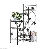 NEW Staircase Style Metal Flower Pot PLANT STAND Display Multi Shelf Ivy Design,staircase surrey baby