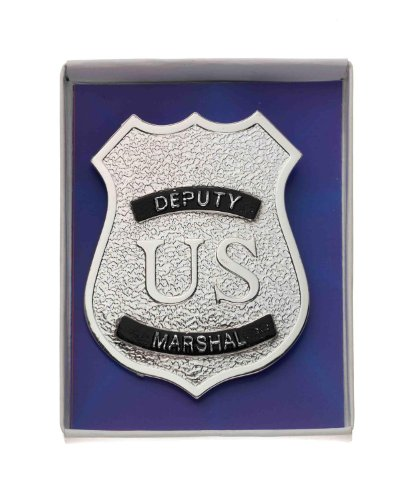 Forum Novelties Deputy US Marshal Police Force Officer Cop Jumbo Costume Badge (Police Uniforms For Sale)
