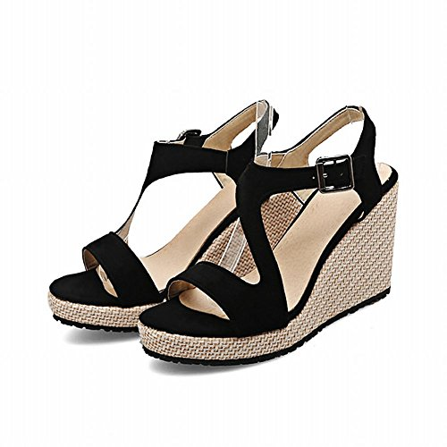 Nero Sandalo Nero Sandalo Elegante Sandalo Donna Elegante MissSaSa MissSaSa Donna MissSaSa Nero Elegante Donna MissSaSa Sandalo Donna wPd4xSqwa