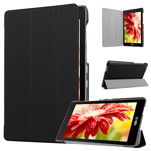 Ultra Slim Case for ASUS ZenPad C 7.0 Z170C 7 inch Tablet (Black) - 9