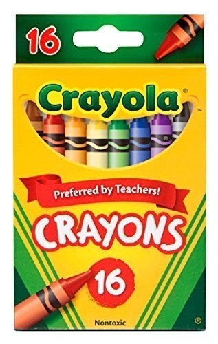 16 Count Crayons - Crayola Classic Color Pack Crayons 16 ea ( Pack of 2)