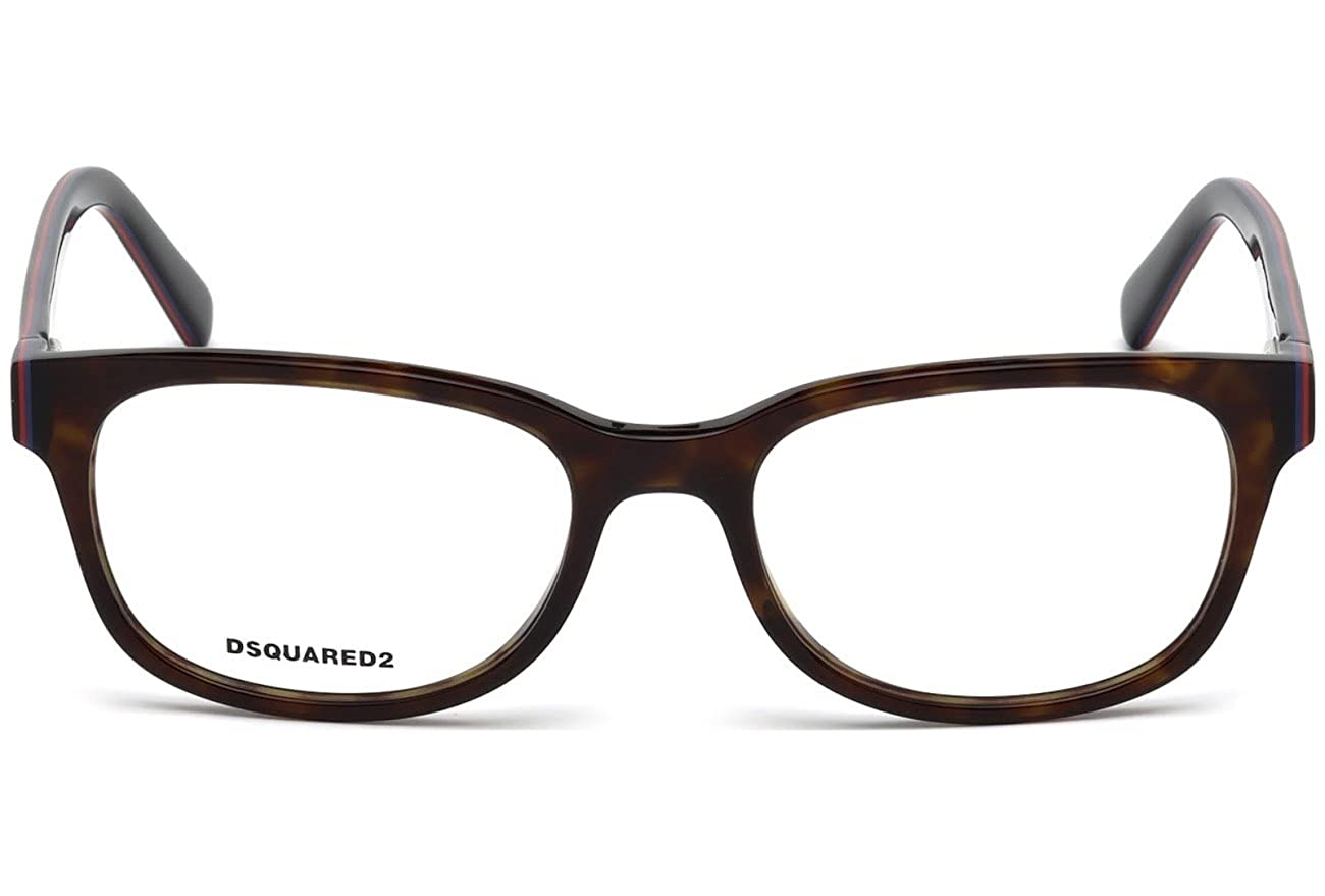 Marrone DSQUARED2 D Squared Brillengestelle DQ5218 052-53-18-140 Montature Brown 53.0 Unisex-Adulto