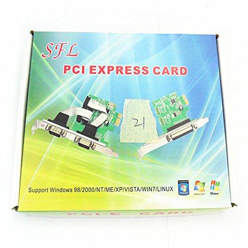 Allytech PCI Express Pci-e 5.1ch 6channels Digital Cmi8738 32-bit 3D Audio Sound Card SFF by Allytech (Image #3)