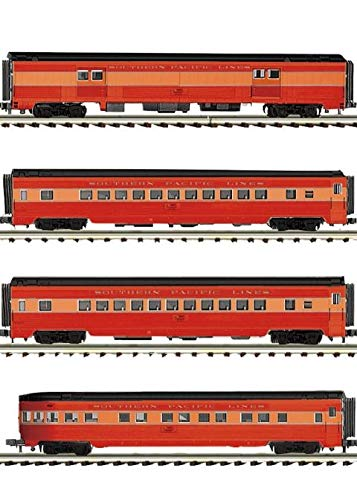 MTH TRAINS; MIKES TRAIN HOUSE SPライン4台車 70フィートストリームライン。