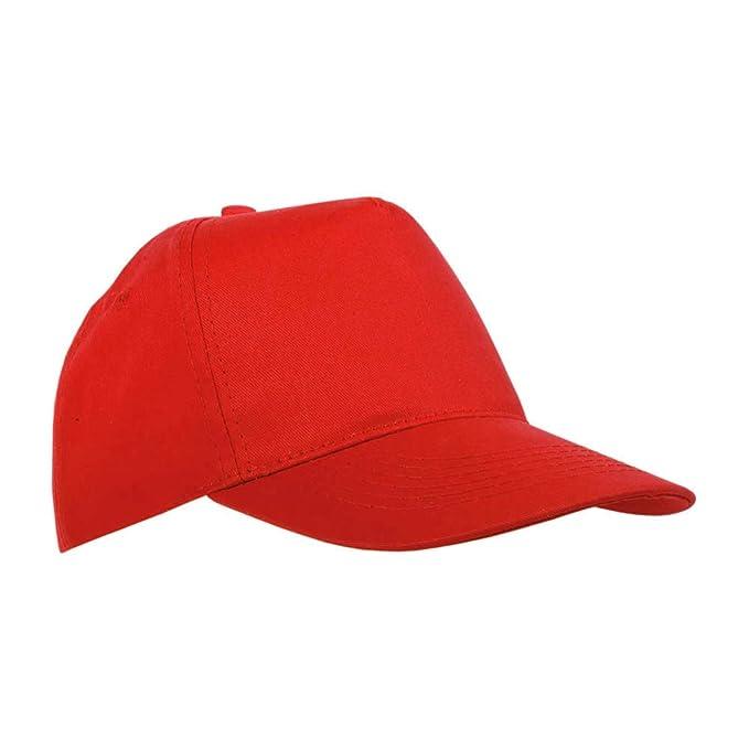 NEUTRO Stock 20 Pezzi Cappello Cappellino Rossi Berretto Bambino Bambina  con Visiera Rigida Regolabili  Amazon.it  Abbigliamento 620c7373b5ac