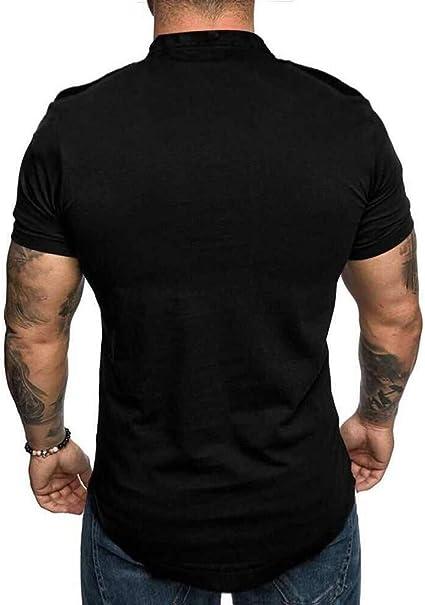 Camisetas Hombre Color de Hechizo Estampado de Fumar Originales ...
