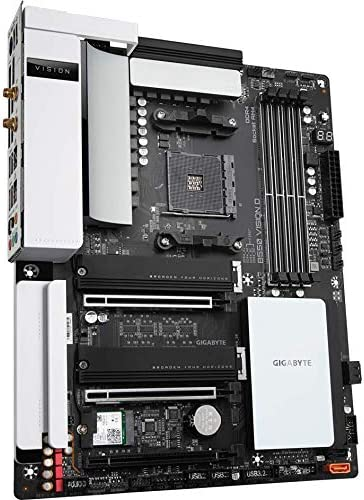 GIGABYTE B550 VISION D ATX Motherboard for AMD AM4 CPUs