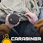 JBL Clip 3 by Harman Ultra-Portable Wireless Bluetooth Speaker with Mic (Black)