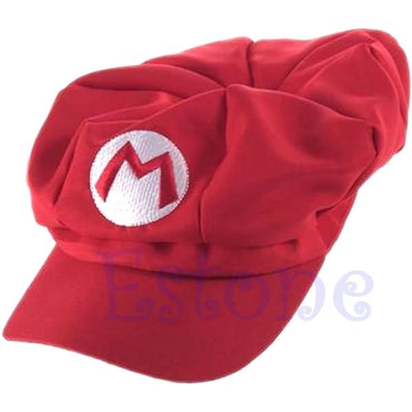 Aawsome - Gorra de béisbol de Luigi Super Mario Bros de cosplay ...