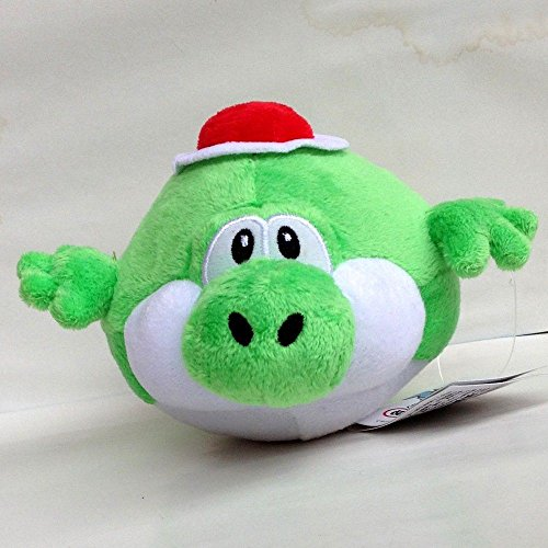 "Super Mario Bros Plush Character Fat Fly Yoshi Soft Toy Stuffed Animal Doll 6"""