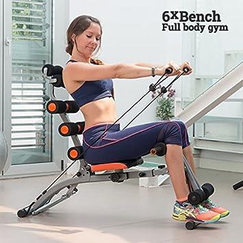 6 X Bench Workout Bench Amazon De Sport Freizeit