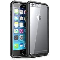 SUPCASE iPhone6s ケース/iPhone6 ケース 米軍MIL規格取得 衝撃吸収 Unicorn シリーズ 透明/黒い