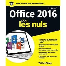 Office 2016 pour les Nuls grand format, 2e édition (French Edition)