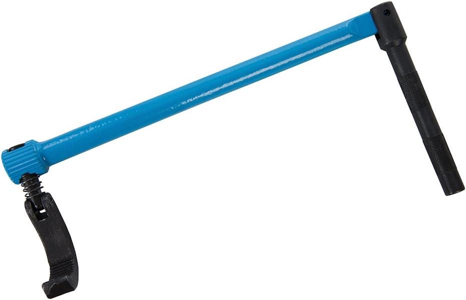 Silverline 273198 Einstellbarer Profi-Standhahnmutterschl/üssel 240 mm