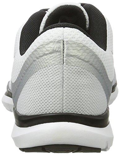 Nike Mujeres Flex Trainer 6 Blanco Negro Platino 102