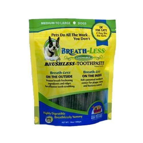 ARK NATURALS Breath-Less Brushless Toothpaste 18 OZ (Medium/Large Dogs)(Pack of 2) by Ark Lighting