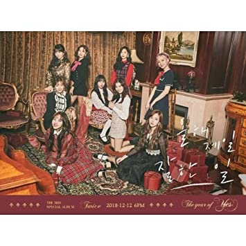TWICE - TWICE [THE YEAR OF YES] 3rd Special Album RANDOM CD+Pre