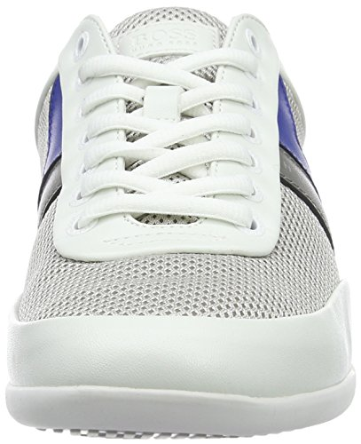 BOSS Green Space_lowp_syme 10195467 01, Zapatillas para Hombre Blanco (Open White)