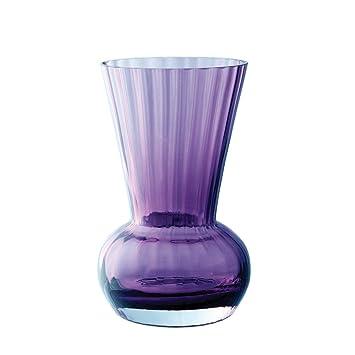 Amazon Dartington Crystal Little Gems Funnel Amethyst Vase
